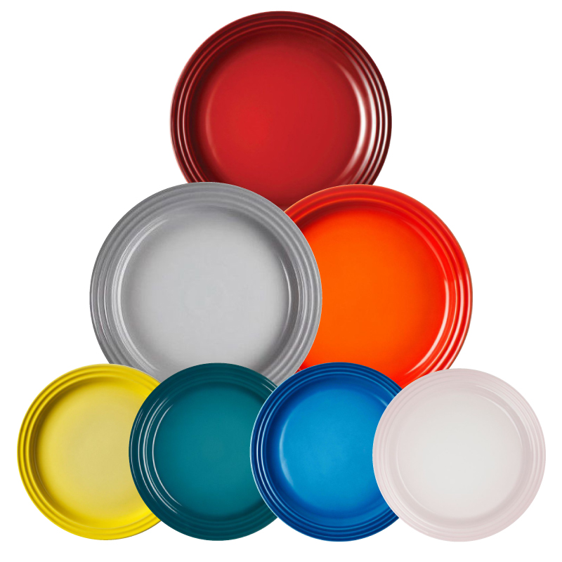 Buy any 4 pcs or 6 pcs 27cm Le Creuset Dinner Plate and save more