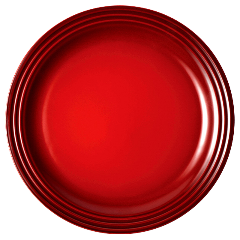 LE CREUSET DINNER PLATE - CERISE - 27CM